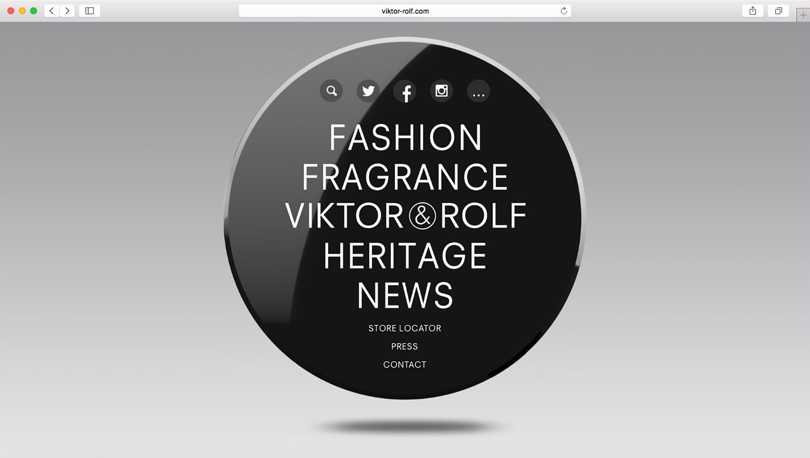 Studio Sander Plug – Viktor & Rolf - The World Round Web